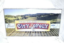 FAIRFIELD / SUISUN OPOLY City Monopoly Board Game California  Sealed