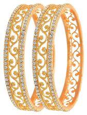 Indian Ethnic Bollywood 2Pcs Bangles Set Wedding Traditional Jewelry 2*10
