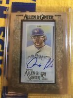 2020 Topps Allen & Ginter ANTHONY KAY Framed Mini Autograph Auto BLUE JAYS RC