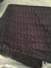 "Home Classics Euro Pillow Sham 26"" x 26"" Gray Charcoal Nwop"