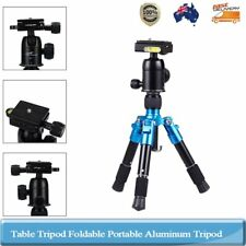 Portable Aluminium Mini Desktop Ball Head Tripod Stand For Canon DSLR Camera
