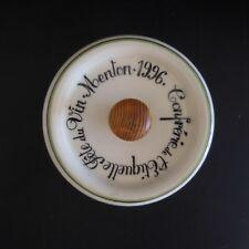 Coupelle dessous bouteille Confrérie de l'Etiquette Fête Vin Menton 1996 France