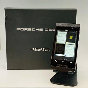 BlackBerry Porsche Design P9982 16GB 4G LTE Unlocked Smartphone - Black