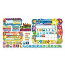 "Trend Star Calendar Bulletin Board Set - 26"" X 31.5"" - Assorted (T8194)"