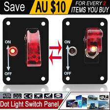 Red LED Toggle Missile Switch Car Boat Truck Auto DC Neon 12V 20A ON/OFF SPST