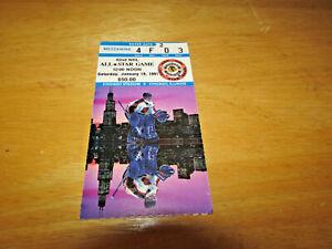 42ND NHL ALL STAR GAME TICKET STUB 1991 CHICAGO STADIUM WAYNE GRETZKY