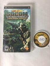 PSP Game Lot Mortal Combat Unchained Socom U.S. Navy Seals