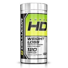 Cellucor SUPER HD Fat Burner Weight Loss New 120 CAPSULES FREE SHIPPING