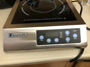 Eurodib USA Ihe3097-p1 Countertop Commercial Induction Range Cooker