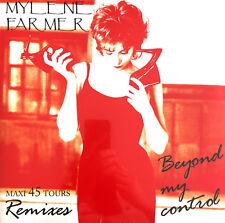 """Mylène Farmer 12"""" Beyond My Control - Tirage limité, réédition 2018 - France"""