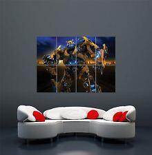 Impresión de arte de Pared Gigante Transformers Bumblebee Cartel Foto WA106