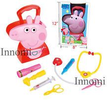 Peppa Pig Medical Tools Nurse Storage Carrying Box Playset Educational Toy Set
