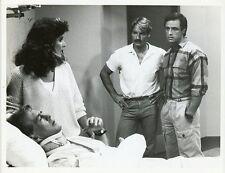 CLU GULAGER LISA DENTON PERRY KING JOE PENNY RIPTIDE ORIGINAL 1985 NBC TV PHOTO