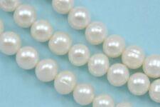 Cuentas sueltas de joyería redondas color principal blanco