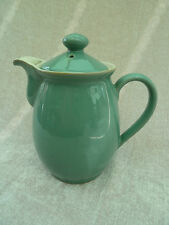 Vintage Denby Manor Green 1 1/2 pint Coffee pot/hot water with lid
