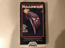Halloween (VHS, 1981, Media) All Flaps Intact - Tape has Mold