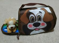 Child's insulated Zip lunchbag fun Placemat playmat Dog Theme