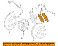 GM OEM Brake-Front Pads 19210708
