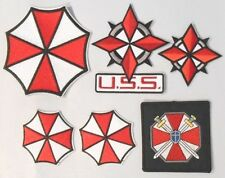 RESIDENT EVIL DELUXE EMBROIDERED PATCH SET OF SIX (6) PATCHES INCLUD. JACKET