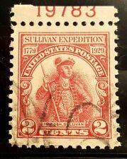 US Stamps: #657 w/PSE Cert XF Jumbo 1929  2c Sullivan Exp. very nice stamp!