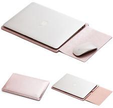 "Leather Laptop Notebook Sleeve Envelope Case Bag Fr Air 11.6/13.3""/15.4""/12"" Mac"