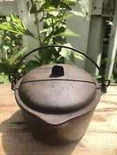 WAGNER WARE Sidney Salesman Sample Mini Dutch Oven Hot Pot w/ Lid Stamped 1368