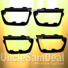 CHEVY CAMARO TAIL LIGHTS FRAME TRIM BEZEL MOLDING FLAT BLACK PAINTABLE 4 PIECES