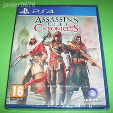 ASSASSINS CREED CHRONICLES NUEVO Y PRECINTADO PAL ESPAÑA PLAYSTATION 4 PS4