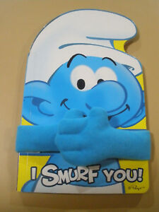 I Smurf You - Board Book - with hugging arms