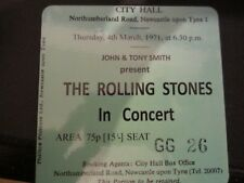 Rolling Stones Concert Coasters March 1971 ticket High quality mdf Coaster