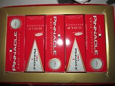 PINNACLE GOLD DISTANCE Softer Feel White GOLF BALLS 5 Pkg of 3 ballsx5= 15 Balls