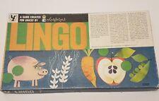 Vintage Unicef Lingo Colorforms Game Nutrition Food Groups Board Game