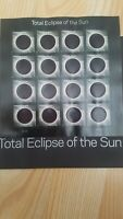 Rare stamps!! Total Eclipse of the Sun MNH Sheet of 16 Forever Stamps w/Sleeve