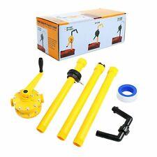 Polypropylene Drum Rotary Heavy-Duty Hand Pump Plastic Oil Fuel Petroleum Barrel