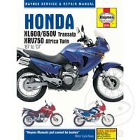 Honda XL 650 V Transalp 2006-2007 Haynes Service Repair Manual 3919