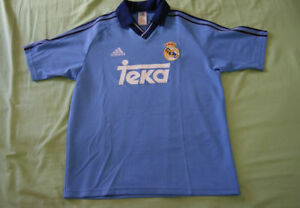 Youth Real Madrid away jersey 1999-2000