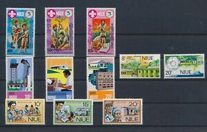 LN74792 Niue mixed thematics nice lot of good stamps MNH