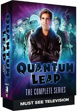 Quantum Leap Complete Series Season 1-5 (1 2 3 4 & 5) Brand New 18-Disc Dvd Set