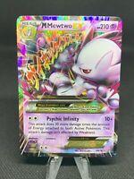 M Mega Mewtwo EX 64/162 XY Breakthrough Ultra Rare Pokemon Card NM/Mint (B4)