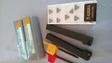 12mm turning tool holder + 10 tungsten carbide inserts