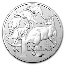 2019  Silver 1 oz  Australian Silver Mob of Kangaroo Merlin Privy Singapore
