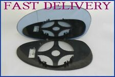 BMW M3 E46 COUPE 2001-2006 DOOR MIRROR GLASS BLUE TINTED HEAT LEFT