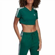 Camisas, camisetas y tops de mujer verdes adidas | Compra ...