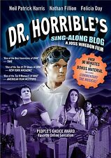 DR HORRIBLE'S SINGALONG BLOG (Neil Patrick Harris) DVD - UK Compatible - sealed