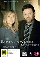 BROKENWOOD MYSTERIES SEASON 3 (DVD) (PAL) (REGION 0) FREE SHIPPING
