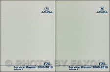2010 Acura RL Shop Manual NEW 2 Volume Set Original OEM Repair Service