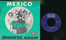 """LES HUMPHRIES SINGERS 45 TOURS 7"""" BELGIQUE MEXICO"""