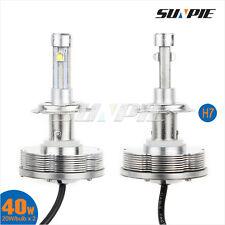 40W H7 CREE LED Headlight Kit Bulb Auto H7 Fog Driving Lamp Low Beam DRL Kit