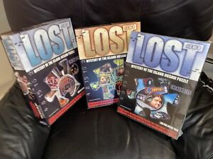 3 Lost TV Show - Mystery of the Island Jigsaw Puzzle  #1 & 2 Open, 3 Sealed