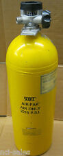 SCOTT AIR-PAK CYLINDER 2216 PSI LUXFER YELLOW